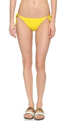 Marc By Marc Jacobs Lola Side Tie Bikini Bottoms Disco Yellow