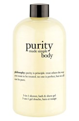 Philosophy 'Purity Made Simple Body' 3 In 1 Shower Bath And Shave Gel