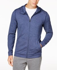 Ideology Id Men's Performance Zip Hoodie Only At Macy's Night Sky Heather