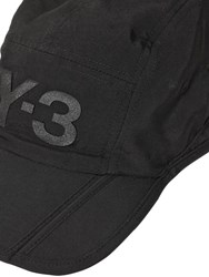 Y 3 Logo Packable Nylon Hat