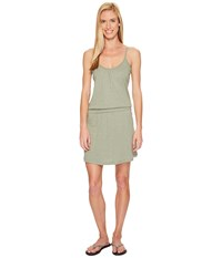 Carve Designs Hadley Dress Pale Reed Women's Dress Gray