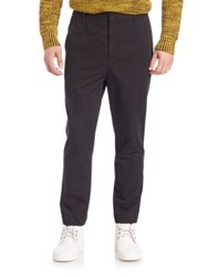 3.1 Phillip Lim Solid Tapered Trousers Black