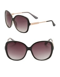 Vince Camuto 64Mm Oversized Square Sunglasses Brown