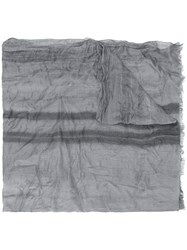 John Varvatos Gradient Effect Scarf Grey
