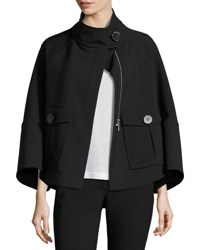 Theory Christoris Pioneer Swing Coat Black