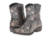 Taos Privilege Pewter Cowboy Boots