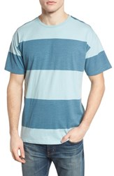 Hurley Rugby T Shirt Noise Aqua Obsidian