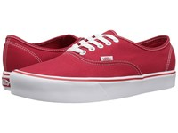 Vans Authentic Lite Canvas Red Skate Shoes