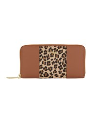 Biba Zip Around Purse Tan