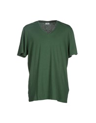 Closed Topwear T Shirts Men Green