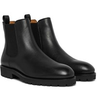 Hugo Boss Eden Leather Chelsea Boots Black
