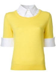 Mary Katrantzou Ella Jumper Yellow Orange