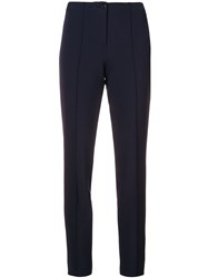 Cambio Skinny Trousers Blue