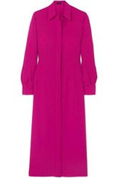 Joseph Turner Ribbed Silk Dress Pink