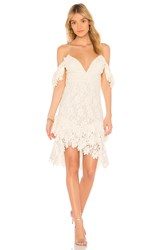 Saylor Dana Dress Ivory