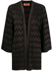 Missoni Chevron Pattern Cardigan 60