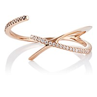 Monique Pean Women's Overlapping Open Band Ring No Color
