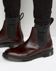 Dr. Martens Dr Made In England Graeme Chelsea Boots Red