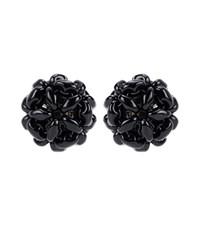 Simone Rocha Beaded Earrings Black