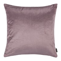 Amara Cotton Velvet Cushion 45X45cm Heather