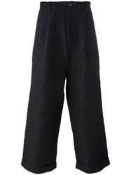 Craig Green Textured Wide Leg Trousers Black