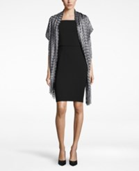 Inc International Concepts Zigzag Wrap Only At Macy's Black Silver
