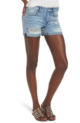 Vigoss Marley Denim Shorts Light Wash