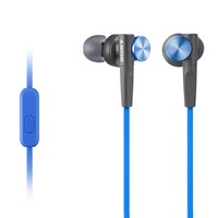 Sony Mdr Xb50ap Extra Bass In Ear Headphones With In Line Control Blue