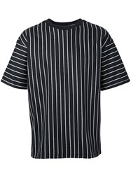 3.1 Phillip Lim Striped T Shirt Black