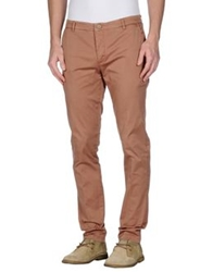 Manuel Ritz White Casual Pants Beige