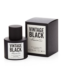 Kenneth Cole Vintage Black Eau De Toilette Spray For Him 3.4 Oz.