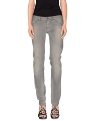 Dolce And Gabbana Denim Denim Trousers Women Grey