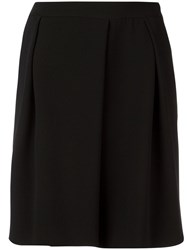 Emporio Armani Classic Pleated Shorts Black