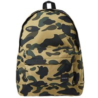 A Bathing Ape 1St Camo Cordura Day Pack Multi