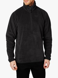 Helly Hansen Feather Pile 3 4 Zip Fleece Ebony