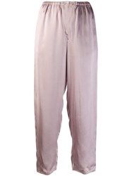 Forte Forte Cropped Trousers Pink
