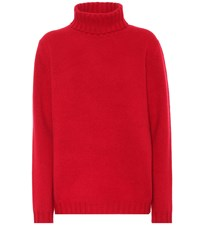 Jardin Des Orangers Exclusive To Mytheresa Cashmere Turtleneck Sweater Red