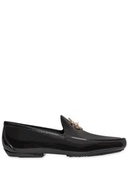 Vivienne Westwood Anchor Detail On Jelly Loafers Black