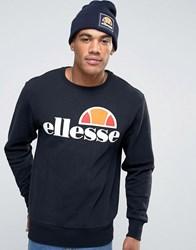 Ellesse Sweatshirt With Classic Logo Black