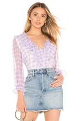 Majorelle Logan Top Purple