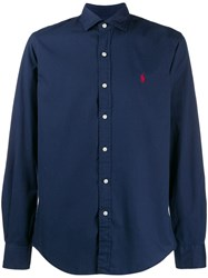 Polo Ralph Lauren Embroidered Pony Shirt Blue