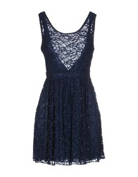 Motel Rocks Dresses Short Dresses Women Slate Blue