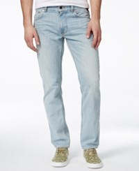 Lrg Men's Rc True Tapered Fit Sunbleached Wash Jeans