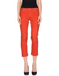 Notify Jeans Notify Denim Denim Trousers Women Red