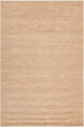 Chandra Amco Rectangular Hand Woven Contemporary Area Rug Brown