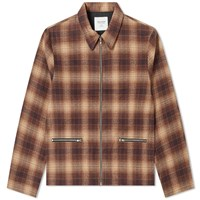 Noon Goons Anderson Flannel Jacket Brown