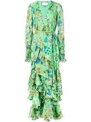 Alexis Solace Dress Green