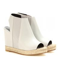 Balenciaga Leather Wedges