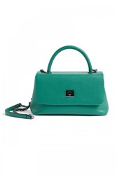 Wtr Abigail Turquoise Leather Cross Body Handbag