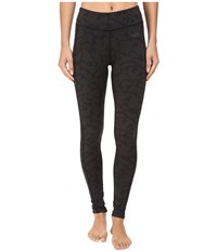 The North Face Pulse Tight Tnf Black Opti Dot Print Women's Workout